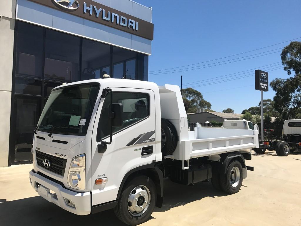 2018 Hyundai Mighty Ex6 Swb Factory Tipper Ad Hyundai